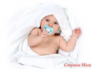 Особенности применения пустышек у детей