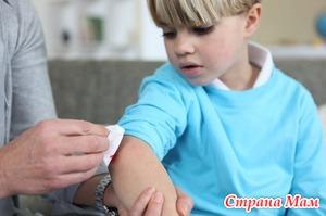 Применение распространенных антисептиков