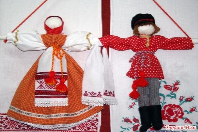 Неразлучники как сделать куклу