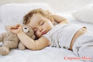 Ночной и дневной сон. Нарушения у малышей