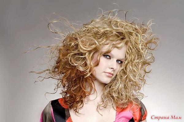 Как ухаживать за сухими, вьющимися волосами? - Страна Мам