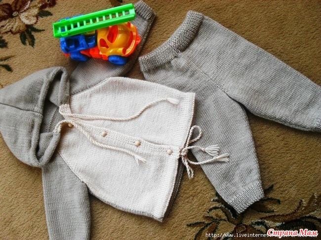 Как связать штанишки на мальчика до года