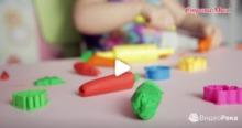 Развиваем мелкую моторику рук с помощью лепки из пластилина