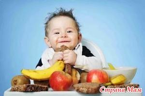 Особенности введения продуктов в меню детей после года