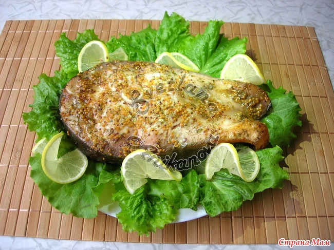 рецепт маринада для стейка из рыбы сорт: тазобедренный