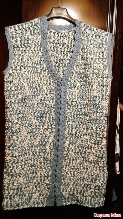 Жилет из свитера своими руками 67