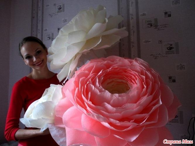 Ростовые цветы своими руками мастер класс