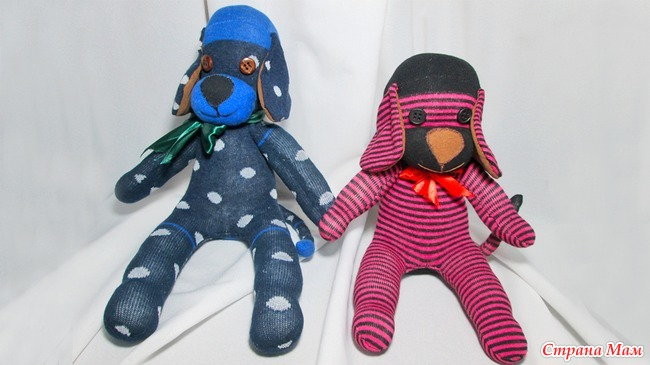 Картинки игрушки своими руками из носка