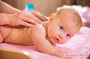 Массаж для малышей: когда и кому?