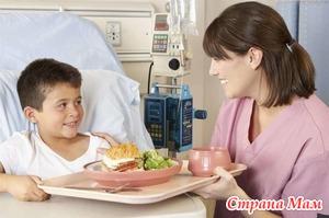 Правильное кормление больного ребенка