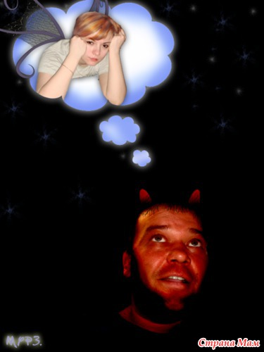 ангел и чертёнок))