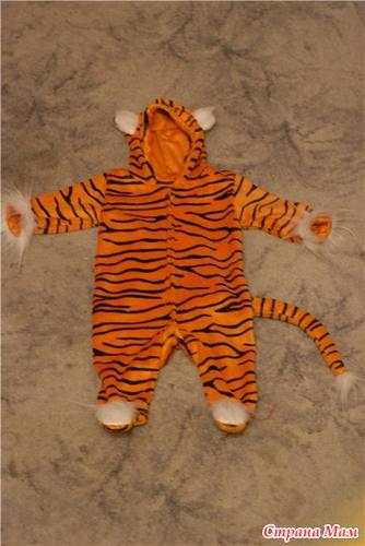 Новогодний тигр своими руками
