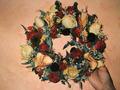 композиция на стену из сухих цветов