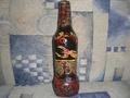 Бутылка роспись