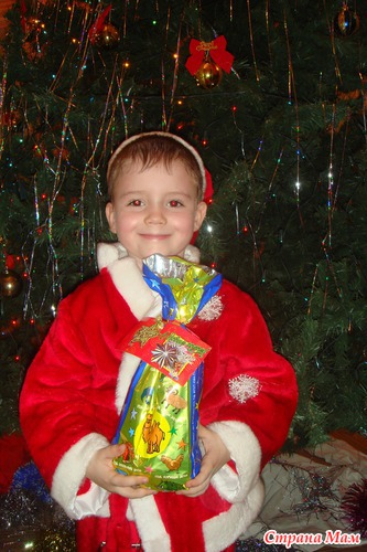 Маленький Санта Клаус!