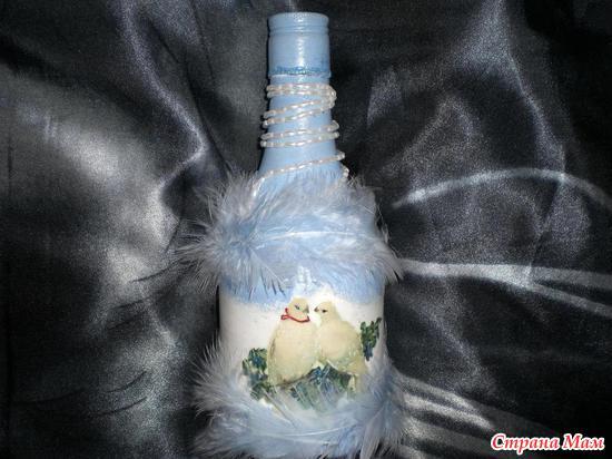 Бутылка нежность1