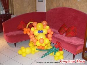 Твистинг - фигурки из шариков
