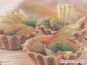 """Пирожное """"фруктовое"""""""