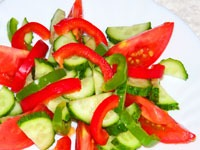Лёгкие салатики