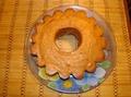 Кекс с маком и сливами