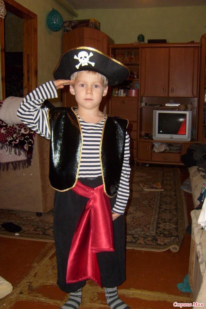 Как сделать костюм пиратки своими руками