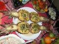 свинина в ананасе