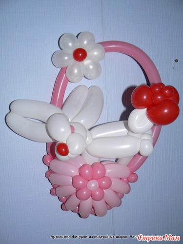 Сумочка из воздушных шаров подарок для девочки