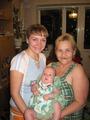 с бабушкой и крестной