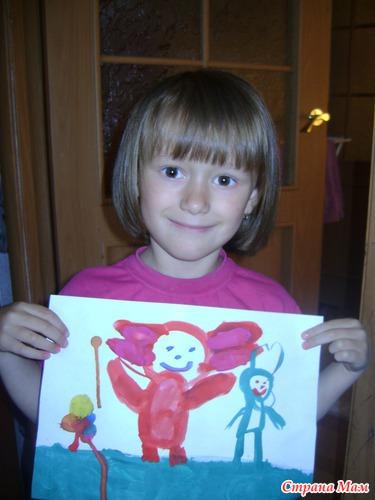 Дашенька 5лет