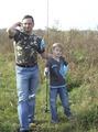На рыбалке