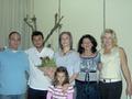 свадьба брата моего мужа (мой муж, его брат Йовче, сноха Майя, её племяшка, свекровь Бранка и я)
