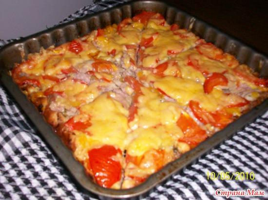 Пицца по рецепту Ира1304