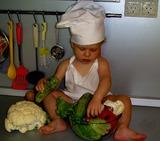 Мама проснется, а салатик готов!