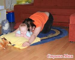 Занятия бэби-йогой для мамочек с малышами от 3-х мес до 1 года в Калининском и Центральных районах СПб