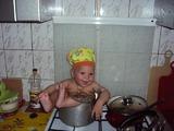 Сегодня Я -дежурный поварёнок!!!