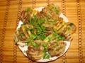 Картошка со свининкой, запечёная в духовке.