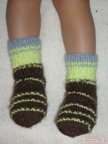 вязание для детей из остатков пряжи