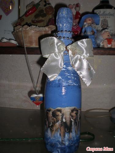 бутылка слоны