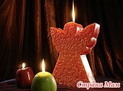 Новогодняя свеча!! МК.