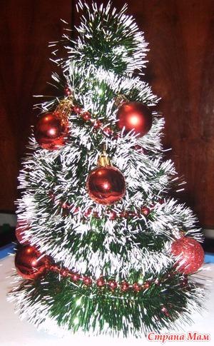 МК Новогодняя ёлочка-сувенир