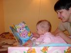 Мы с дочкой хотим выиграть электронную книгу, чтобы подарить ее папе на день рождения (11 февраля), а потом всем вместе читать ее. Ведь электронная книга - это очень удобно, по сути, это целая библиотека, которую можно запросто уместить в сумочке!