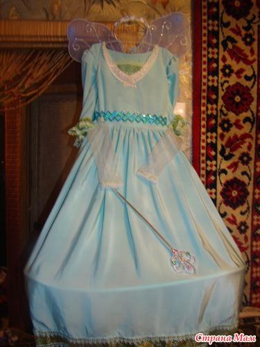 Новогоднее платье для дочери. Фея.