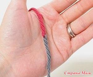 Способ соединения двух нитей