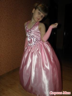 Шьем платье для маленькой принцессы