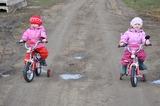 Велосипедистки!