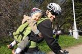 Вело-прогулка с папой