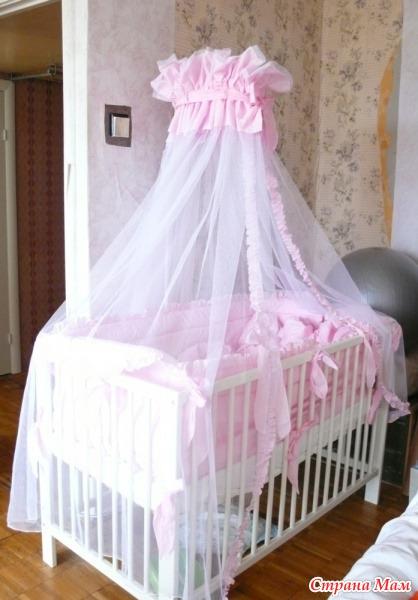 Как сшить балдахин на детскую кроватку: выбор ткани и 95