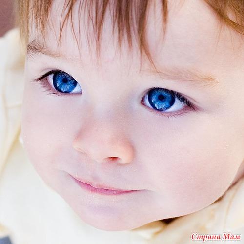 Сколько меняется цвет глаз детей