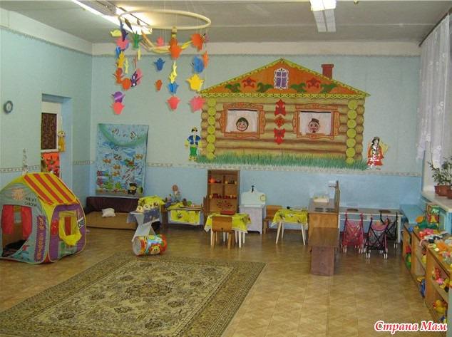 как оформить группу в детском саду фото