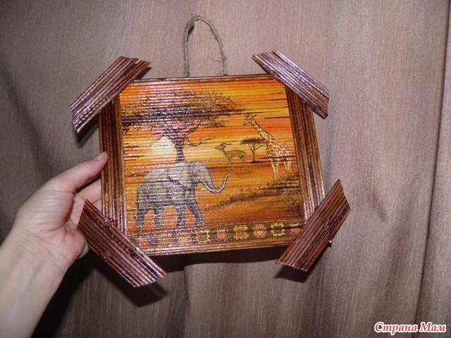 панно из деревянных шпажек своими руками фото зачем вообще